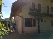 Vorher Fassadengestaltung Haus in Drobolach