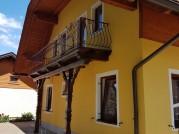 Nachher Fassadengestaltung Haus in Drobolach